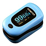 NEWNIK FINGERTIP PULSE OXIMETER WITH LANYARD & PROTECTIVE POUCH - B00LBR0CRC