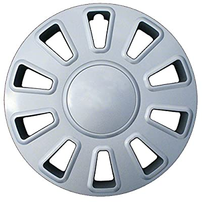 2003-2007 Ford Crown Victoria 17-inch Silver Metallic Clip-On Hubcap Covers (Set of 4)