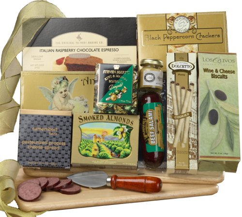 Art of Appreciation Gift Baskets A Cut Above Cutting Board Gift Set