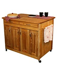 Catskill Craftsmen Butcher Block Workcenter PLUS by Catskill