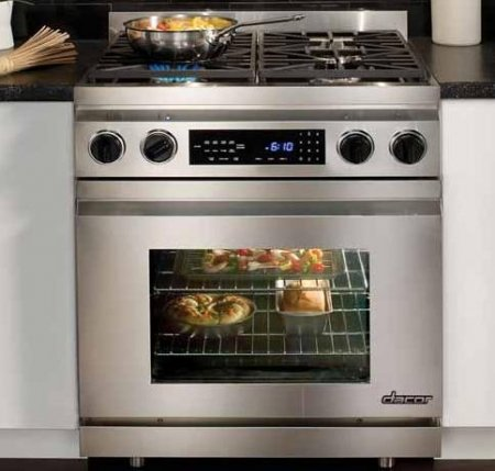 Dacor Millennia 30 In. Stainless Steel Freestanding Dual Fuel Range - DR30DNG