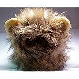 Pet Costume Lion Mane Wig Hat for Dog Cat Halloween
