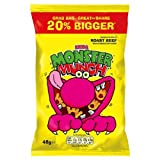 Mega Monster Munch Roast Beef Flavour Baked Corn Snack 48g (Pack of 30)