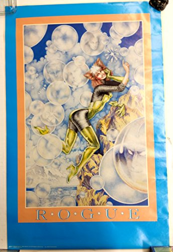 Rogue-X-Men-Marvel-Vintage-Poster-22-x-34-inches