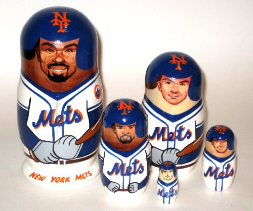 NY Mets * MLB Baseball * or any other sport team * 5 pcs / 6 in