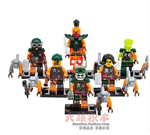 6 Set (Morro Ninjago Costume)