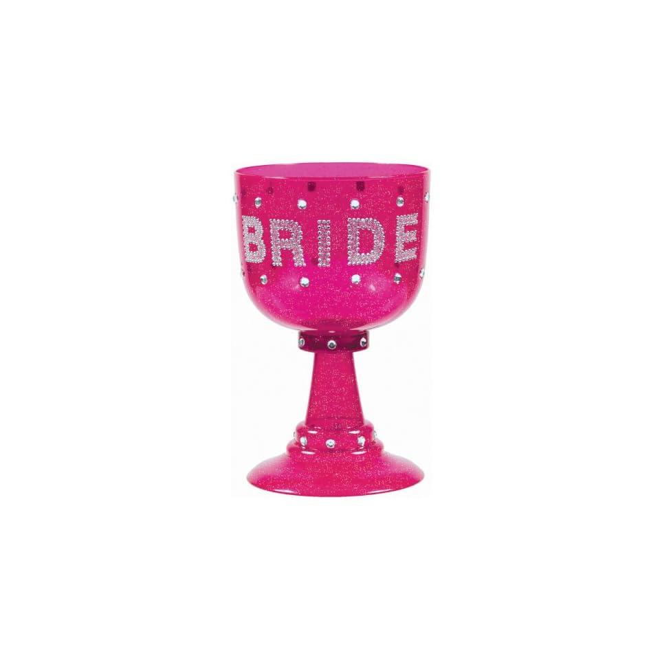 Lets Party By Amscan Bachelorette Hot Pink Bride Goblet