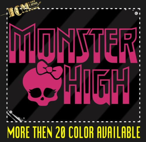 Monster High Vinyl Decal Sticker / 8