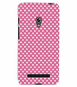 PrintVisa ASUSZENFONE5-Corporate Print & Patterns Polka Dots Plastic Back Cover (Multicolor)