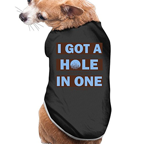 [I Got A Hole-in-One Dog Shirts Dog Costumes Dog Coats For Puppy] (Video Of Dog In Costume)