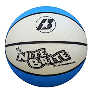 Baden Nite Brite Glow in the Dark Size 6 Rubber Basketball