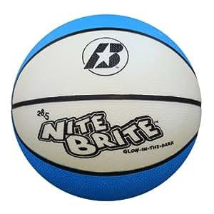 Baden Nite Brite Glow in the Dark Size 6 Rubber Basketball