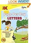 Pre-K Page Per Day: Letters