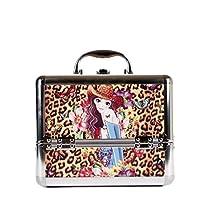 Nicole Lee Priscilla 10 Inch Cosmetic Aluminum Case with Mirror, Sandra, One Size