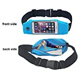 Waist Pack, Smarco Adjustable and Touchscreen Running Belt for iPhone6-4.7 Inch, iPod, Keys, Cash and Credit Cards - Ideal for Jogging, Gym, Running,