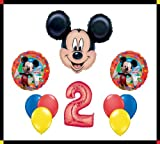 Disney Mickey Mouse Clubhouse 2 Happy Birthday Balloon Set Party Decoration