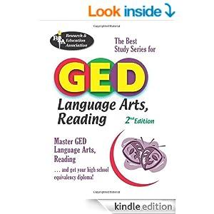 Language Arts Reading GED Worksheets