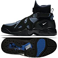 Nike Mens Air Unlimited High-Top Shoes (Black/Blue)