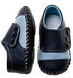 Little Blue Lamb Lauflernschuhe Babyschuhe Sneaker, Größe: 12-18 Monate, Farbe: navy blau -