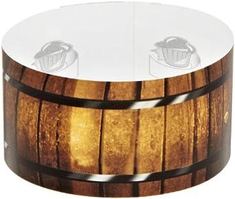 Roundabouts Cupcake Sleeves Wine Barrel Cupcake Sleeve (Pack of 24)