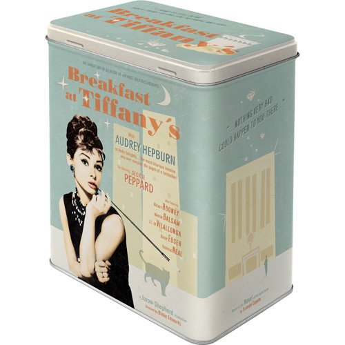 Nostalgic-Art-30119-Breakfast-at-Tiffanys-Blue-Vorratsdose-L
