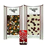 Chocholik Belgium Chocolate Gifts - Invigorating Collection Of Belgian Chocolate Bars With 3d Mobile Cover For...