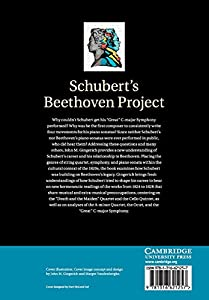 Schubert's Beethoven Project from Cambridge University Press