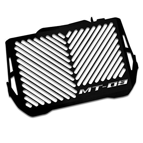 Protezione Radiatore Yamaha MT-09 Tracer 15-16 Inox nero logo