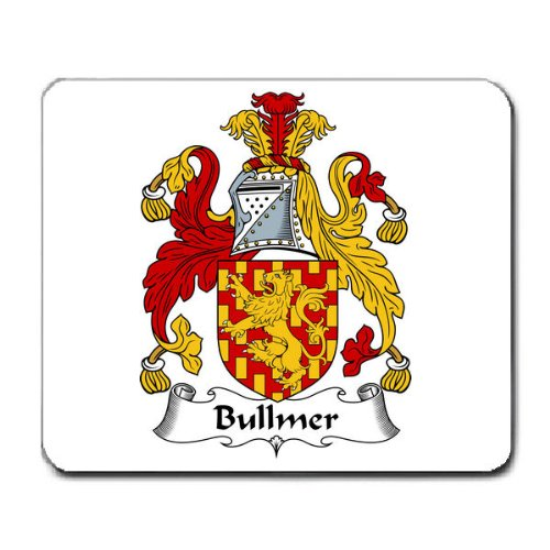 bullmer-or-bulmer-family-crest-coat-of-arms-mouse-pad