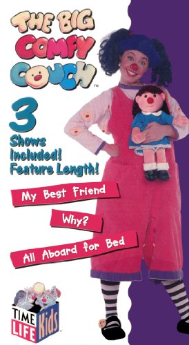 The Big Comfy Couch My Best Friend Why All Aboard For Bed Vhs Vhs