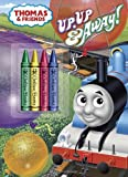 img - for Up, Up and Away! (Thomas & Friends) (Color Plus Chunky Crayons) book / textbook / text book