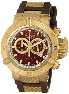 Invicta Men's 5516 Subaqua Collection Gold-Tone Chronograph Watch