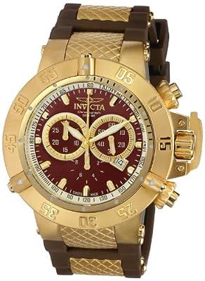 Invicta Men's 5516 Subaqua Collection Gold-Tone Chronograph Watch