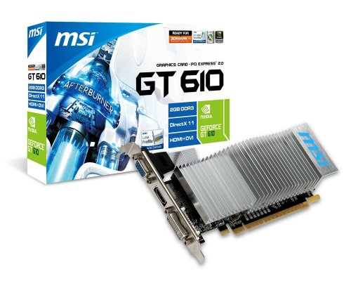 MSI V809-422R NVIDIA GeForce GT 610 2GB scheda video