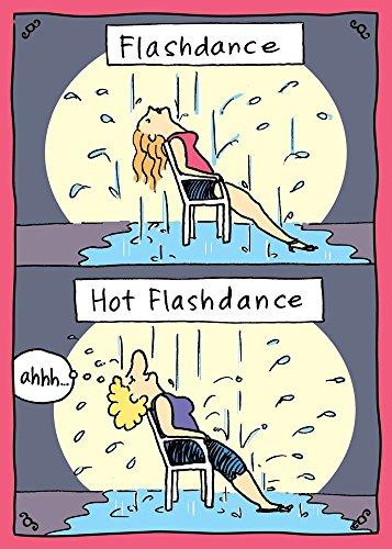 Tree Free Greetings Hot Flashdance Funny Birthday Cards, 2 Card Set, Multicolored (14227) [並行輸入品]