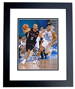 Jason Kidd Autographed Hand Signed Dallas Mavericks 8x10 Team USA Photo - BLACK... by Real Deal Memorabilia