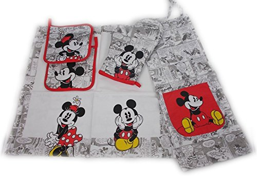 Set da cucina MICKEY MOUSE RETRO di Caleffi.