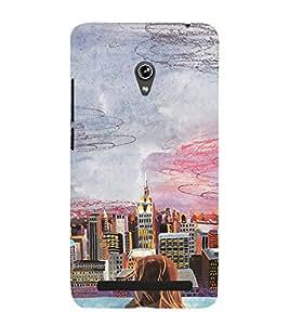 EPICCASE City View Mobile Back Case Cover For Asus Zenfone 6 (Designer Case)