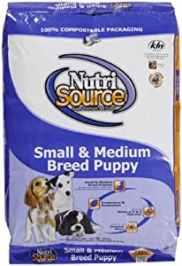 Nutri Source Small & Medium Puppy - Chicken & Rice - 18 lbs