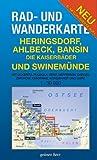 Rad- und Wanderkarten : Heringsdorf, Ahlbeck, Bansin -