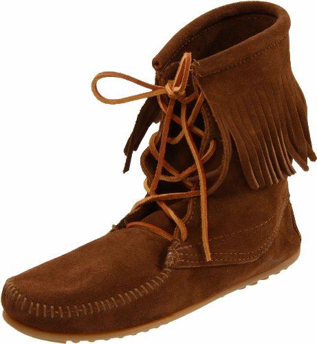 Minnetonka Women's 428 Tramper Ankle Hi Boot,Dusty Brown,8 M US