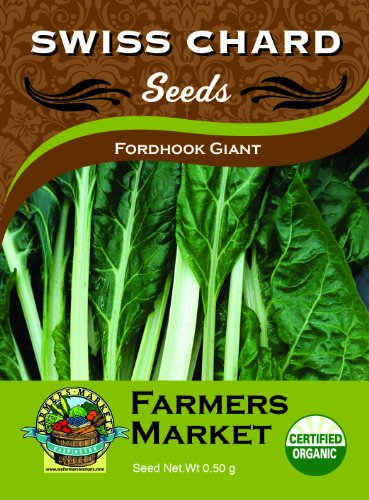 Toland Home Garden Organic Fordhook Giant Swiss Chard Seeds