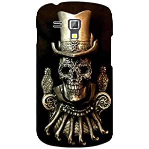 Samsung Galaxy S Duos 7582 Black Devil Matte Finish Phone Cover - Matte Finish Phone Cover