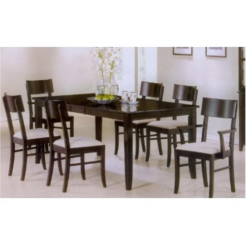 Buy Low Price Coaster Dining Table 6 Chairs Set Contemporary VF AZ24 7