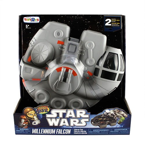 Mighty Beanz Carry Case - Star Wars Millenium Falcon - 1