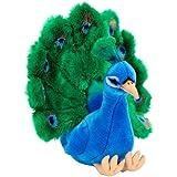 FAO Schwarz 15 inch Plush Peacock - Blue/Green
