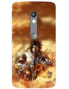 Doyen Creations Designer Printed High Quality Premium case Back Cover For Moto X Play