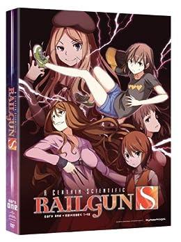とある科学の超電磁砲S: パート1 北米版 / Certain Scientific Railgun: Season 2 Part 1 [DVD][Import]