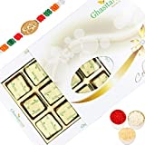 Rakhi Gifts Sweets-Ghasitaram 12 Pc Mewa Bite Box- R5
