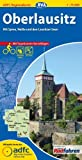 ADFC-Regionalkarte Oberlausitz mit Tagestouren-Vorschlägen, 1:75.000, reiß- und wetterfest, GPS-Tracks Download: Mit Spree, Neiße und den Lausitzer Seen (ADFC-Regionalkarte 1:75000)